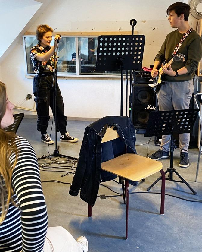 linjefag musik Nordsjællands Friskole